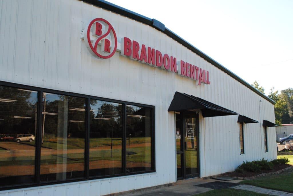 Brandon Rentall store front