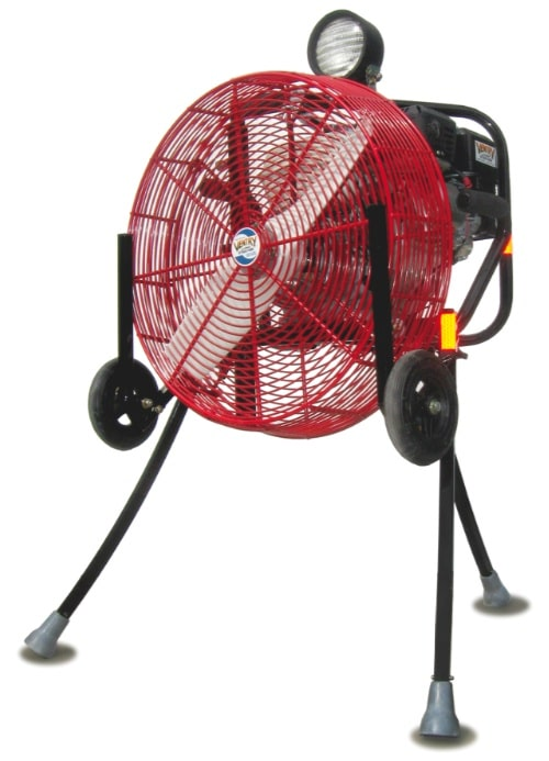 brush fan